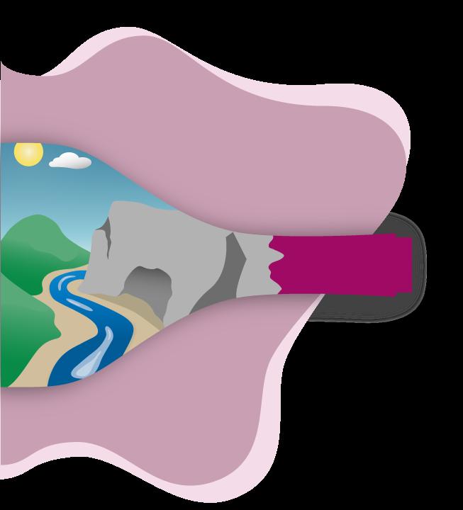 illustration bouteille de vin cave troglodyte accueil